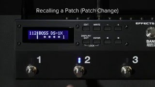ES-5 Quick Start Chapter 2: Saving and Recalling a Patch