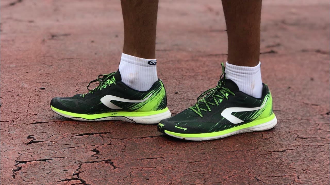 sur les images de pieds de complet dans les spécifications disponible TREINO + REVIEW: Kalenji Kip Run Race