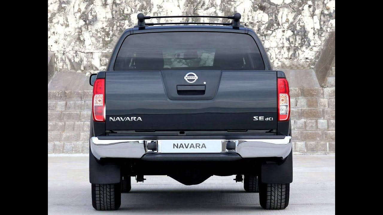 Nissan navara frontier iii d40 pickup double cab exterior nissan navara frontier iii d40 pickup double cab exterior interior youtube vanachro Image collections