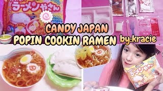 POPIN COOKIN RAMEN by KRACIE - DIY CANDY KIT JAPAN REVIEW [ BAHASA INDONESIA ]