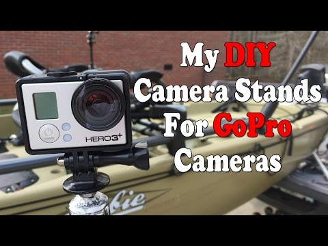 How I Make My GoPro Stands And Mounts
