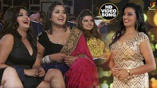 #Akshara Singh & #Kajal Ragwani और Monalisha ने जबरदस्त Performance in Dubai - Bhojpuri Award