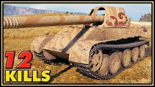 Rheinmetall Skorpion G - 12 Kills - World of Tanks Gameplay