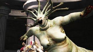 God of War 2: Euryale Boss Fight (4K 60fps)