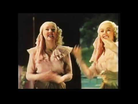 BETTY GRABLE                  JUNE HAVER                             The Vamp Song