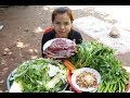 Awesome Cooking Beef With Egg & Vegetable Delicious Recipe -Cooking Beef Recipe-Village Food Factory