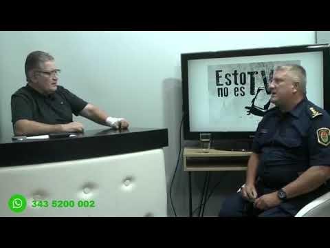 """Rubén Almara entrevistando a Marcos Antoniow, en el programa """"ESTO NO ES TV"""""""