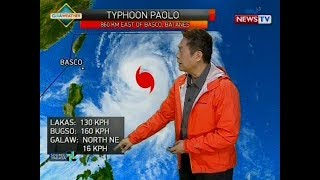 BP: Weather update as of 4:16 p.m. (Oct. 20, 2017)