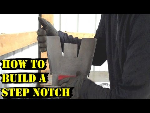 Update #8 - How to Build a Step Notch - 55 Chevy Truck - C notch