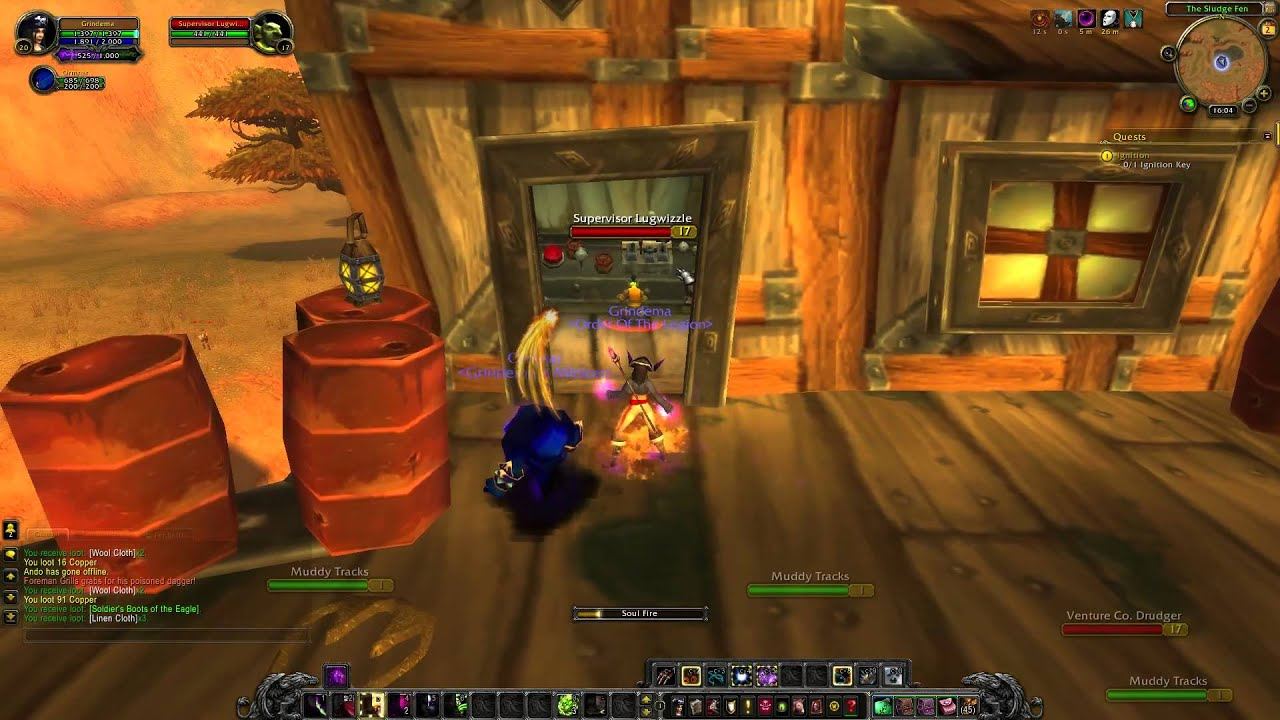 Wow Quest 1314 Ignition