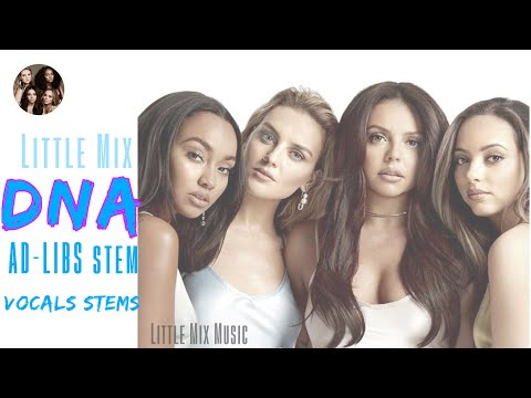Little Mix - DNA (Lead Stem,Vocals Stems + AD-LIBS)