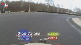 Onboard karting Michael Schumacher vs Arjan Kievitsbosch