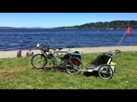 Seward Park on the Bailey Peninsula, Seattle, WA
