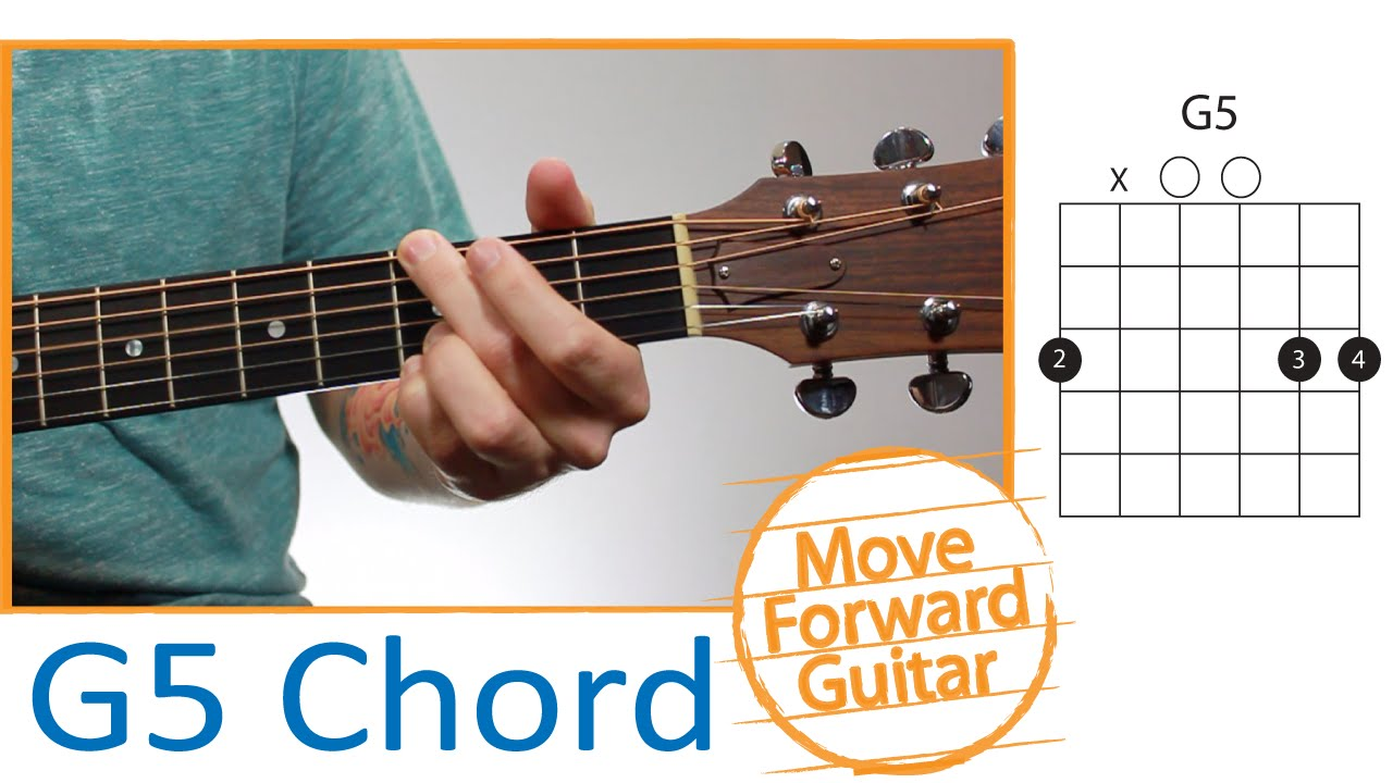 Guitar Chords for Beginners - G5 - YouTube