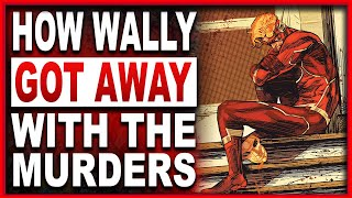 Heroes in Crisis #8 Wally West Explains How He Got Away With Murder