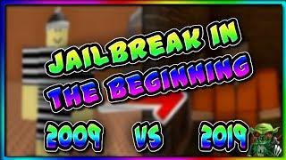Jailbreak 2009 VS jailbreak 2019 (Roblox)