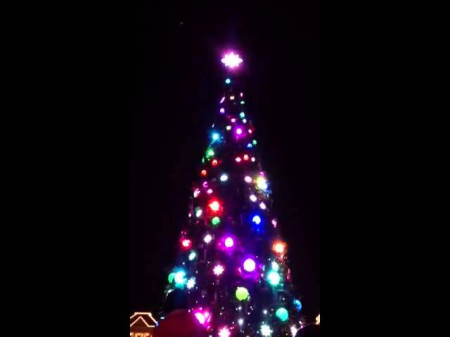 Disneyland Paris - Encendido del Arbol de Navidad 2013 Travel Video