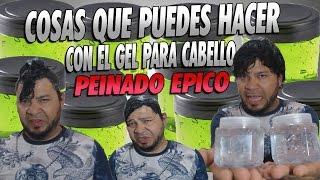 COSAS QUE PUEDES HACER CON EL GEL PARA CABELLO | PEINADOS CON GEL