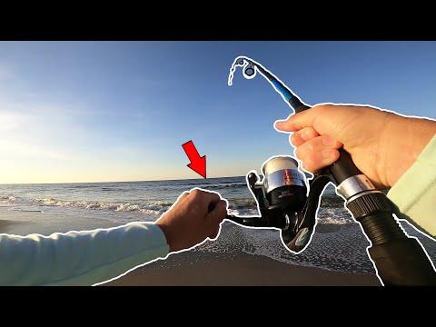 INSANE Surf Fishing At Ocean Isle Beach, NC!!