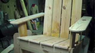 How To Build Adirondack Chair Idiots Guide To Woodworking 2nd Chair Pt 3