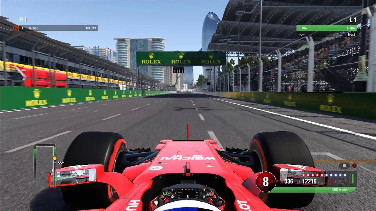 F1 2017 - Top Speed Test - All Cars - YouTube