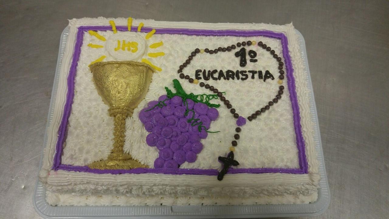 Bolo 1 Eucaristia