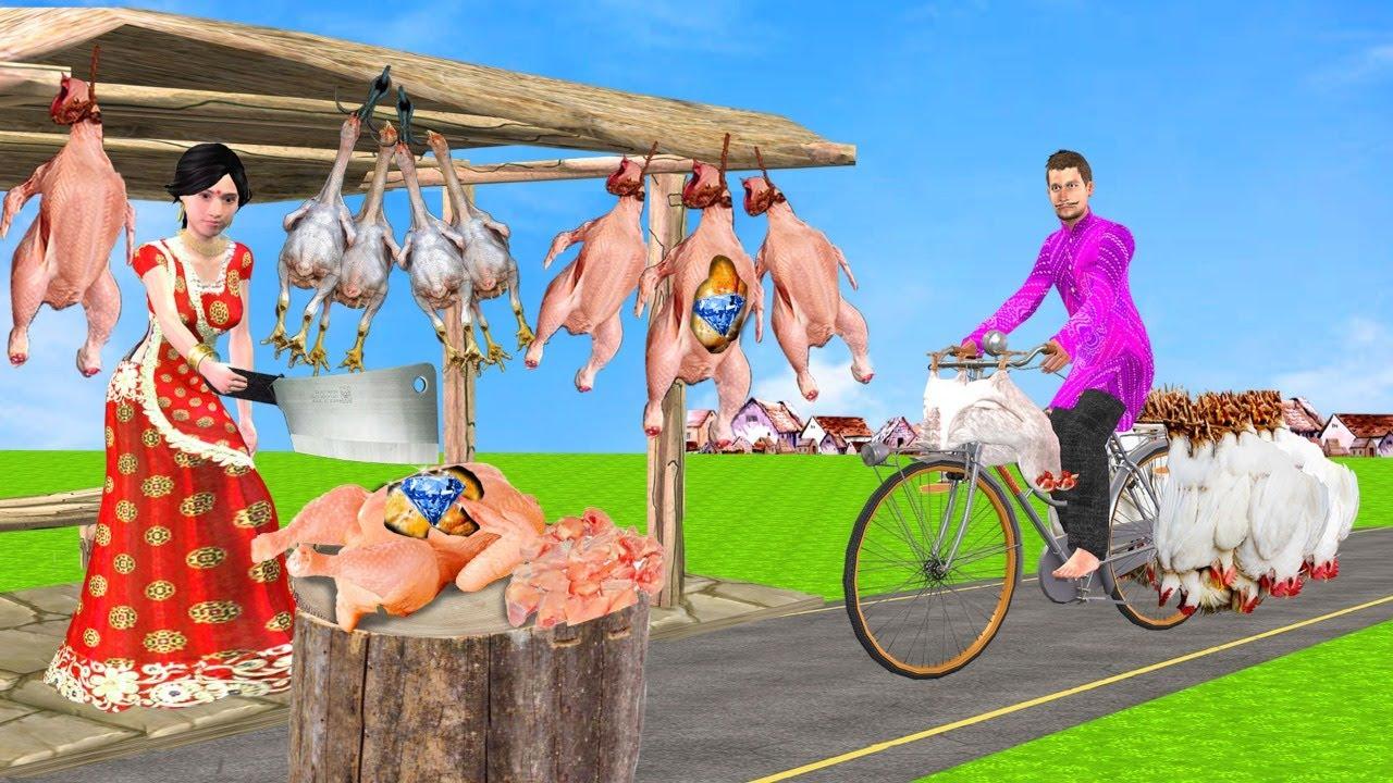 लॉकडाउन चिकन डिलीवरी Lockdown Chicken Delivery Comedy Video हिंदी कहानियां Hindi Kahaniya Comedy