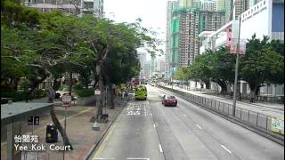 [Hong Kong Bus Ride] 九巴 AV4 @ 59A 往 屯門碼頭 [全程行車影片]