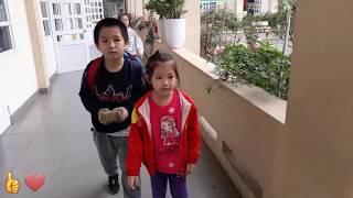 🤣🤗❤👍têt về trường 915♥️funny kids songs♥️video clip♥️nhạc tiếng anh cho bé♥amazing♥discovery