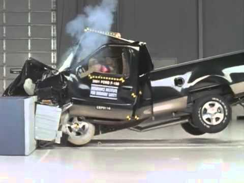Deadly Crash Test Ford F150 Moderate Overlap Test Iihs