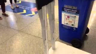 Pseudo Hologram Dubai airport
