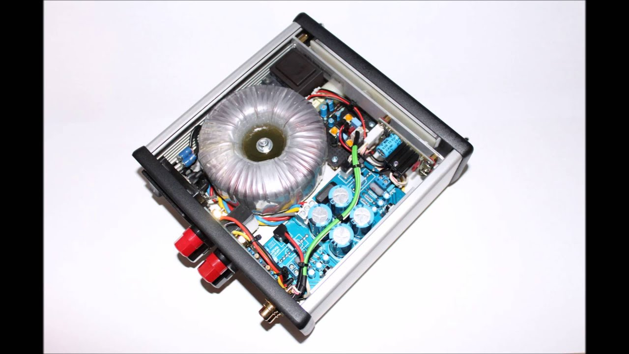 diy lm1875 gainclone power amplifier no 2 youtube. Black Bedroom Furniture Sets. Home Design Ideas