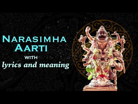 Narasimha Aarti with Lyrics and Meaning
