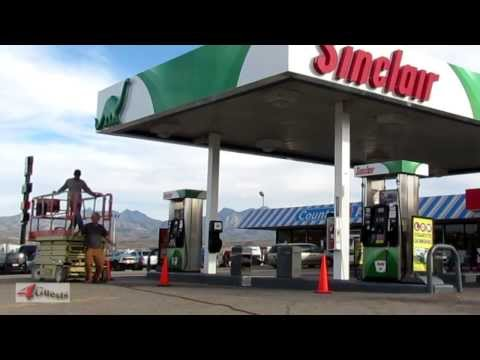 sinclair gas station now at ta travel center youtube