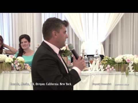 Best Ukrainian Wedding Host. Seattle .Evgeniy Semeniuk