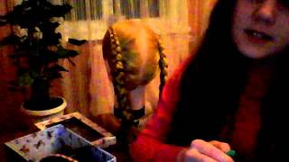 Две обратной косы с лентой