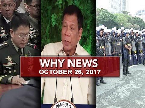 UNTV: Why News (October 26, 2017)