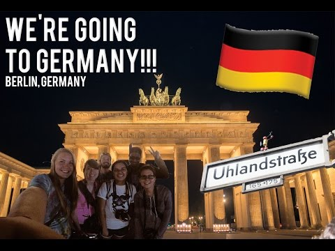 WE'RE GOING TO GERMANY!!! // BERLIN, GERMANY