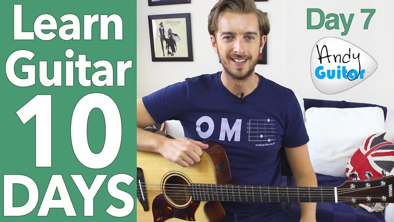 Guitar Lesson 7 Play 10 Songs With 4 Chords Free Guitar Lessons