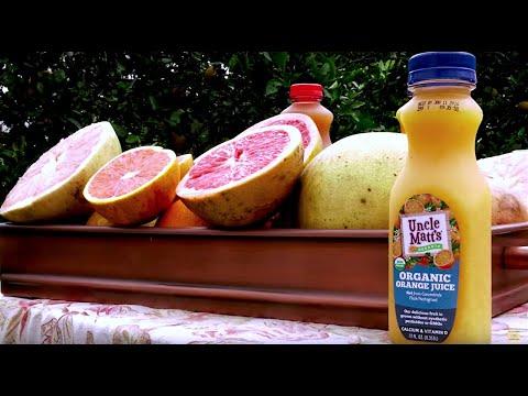 Organic Orange Juice Benefits