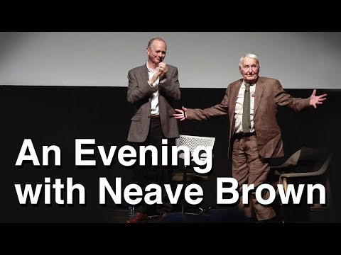 Neave Brown in Conversation