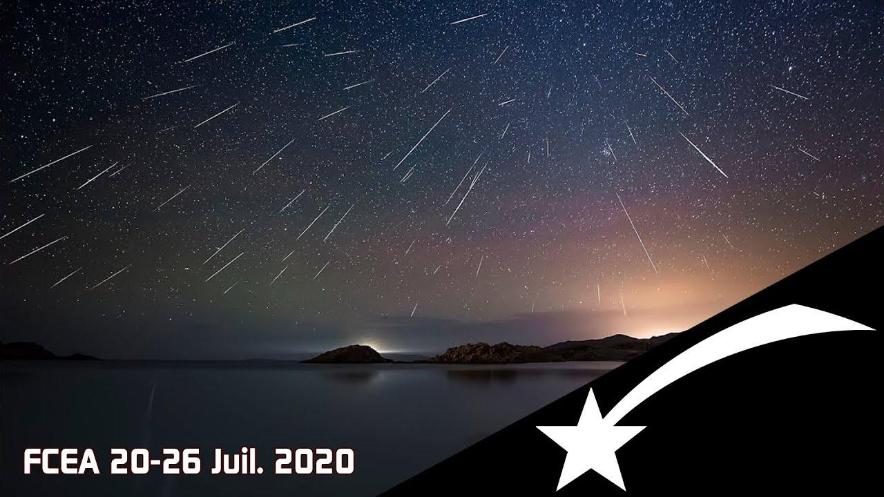 3 essaims d etoiles filantes cette semaine ephemeride 27 juil 2 aout 2020