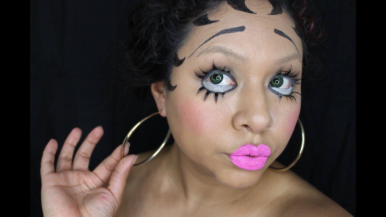 Tutorial De Maquillaje: Disfraz De Betty Boop - JuanCarlos960 - YouTube
