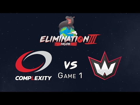 Elimination Mode 3 - Complexity vs WanteD - Game 1