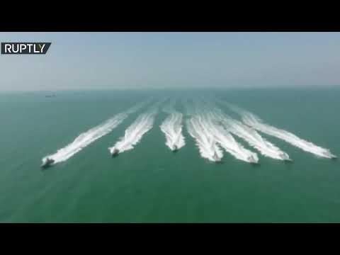 البحرية الإيرانية تستعرض قوتها في مياه الخليج  - نشر قبل 3 ساعة