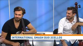2CELLOS take the GMW stage
