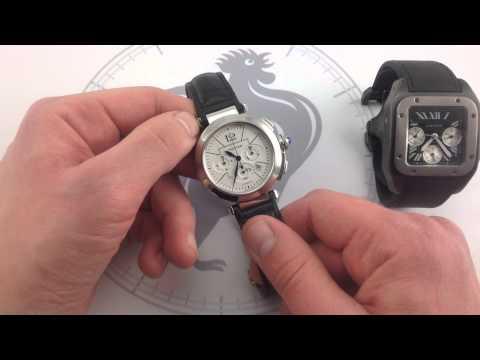 Cartier Pasha GMT Stainless Steel Automatic Watch von YouTube · Dauer:  1 Minuten 15 Sekunden