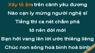 Ly Ruou Mung Karaoke - Hop Ca - CaoCuongPro