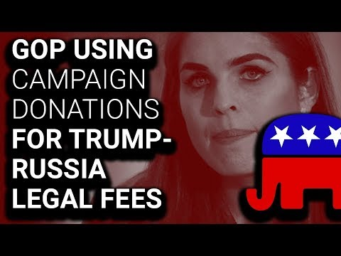 RNC Using Campaign Donations for Trump Team Legal Fees