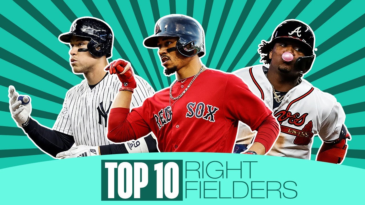 Top 10 MLB Right Fielders for 2020